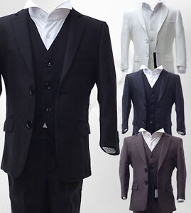 UK-BOYS-3-PIECE-FORMAL-PAGEBOY-SUITS-COMMUNION-WEDDING-SUIT-AGE-6-M-TO-15-YRS