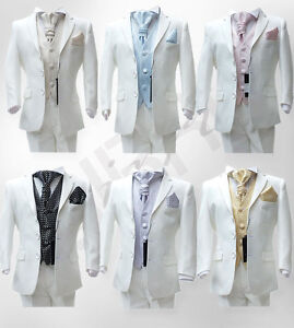 BOYS-IVORY-SUIT-5-PCS-FORMAL-PAGE-BOYS-WEDDING-CRAVAT-SUITS-AGE-6-M-TO-15-YRS