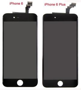 BLANC ou NOIR ECRAN COMPLET POUR IPHONE 6 et 6 PLUS LCD DISPLAY TOUCH SCREEN DIGITIZER ASSEMBLY NEW REPLACEMENT SCREEN