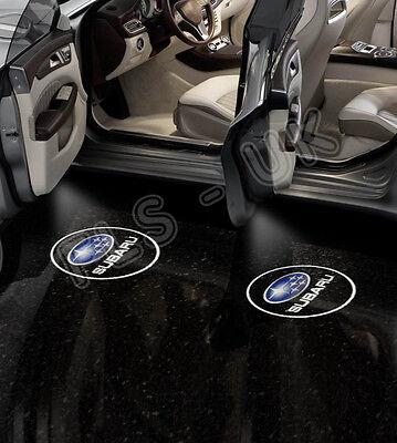 SUBARU CREE LED CAR LOGO GHOST SHADOW DOOR LIGHT LAMP 2 BULB SET HID - GSL092
