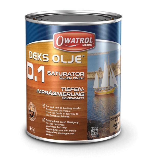 Owatrol Deks Olje D1 Saturator Wood Oil 1 Litre