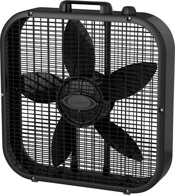 Lasko - Box Fan - Black Lasko Floor Fans