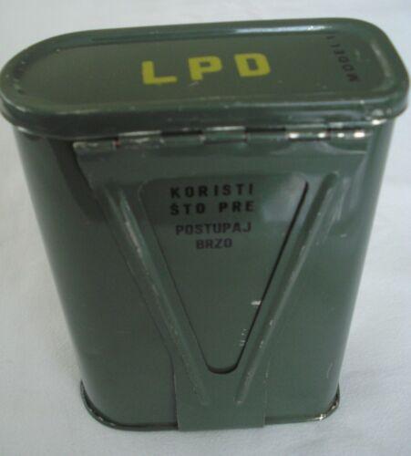 Vintage 1980s First aid kit JNA Medic protection kit ex Yugoslavia Army