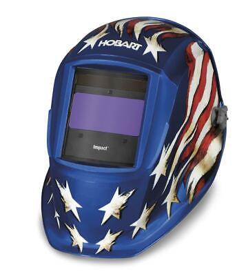 Hobart-770758 Impact Series Auto-darkening Patriot Helmet