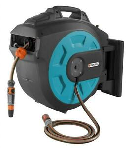 NEW GARDENA Retractable Hose Reel 115-Feet with Convenient Hose Guide Condtion: Like New. Hose Guidance Is Broken