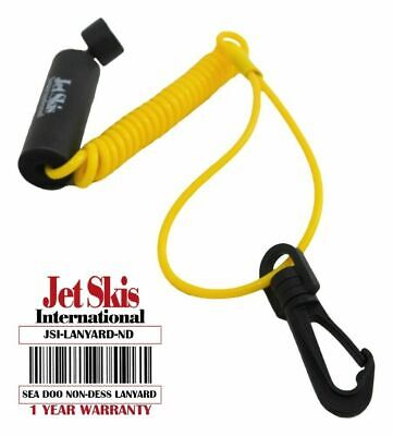 Floating Safety Lanyard Ignition Cap Key Stop Switch Yellow Fit Sea-Doo