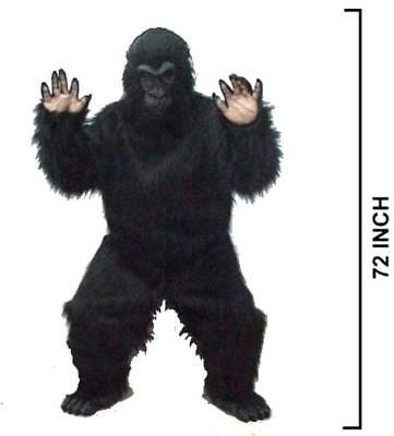 new ADULT SIZE COMPLETE EXPERT GORILLA / MONKEY SUIT mens womens costumes new - Womens Monkey Costume