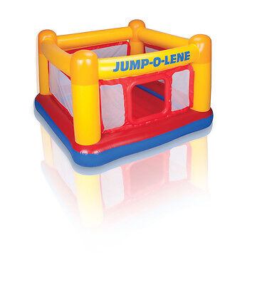 Intex Playhouse Jump-O-Lene Bouncer Inflatable Ball Pit Bounce House