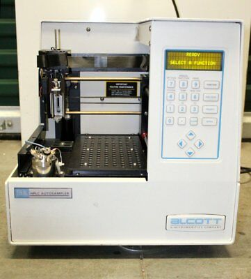 Alcott 719al Hplc Autosampler Tested Working 719 Al