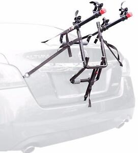 UNIVERSAL CAR BICYCLE RACK CARRIER - EASY TO USE AND TRANSPORT YOUR BIKES TO A PARK!!