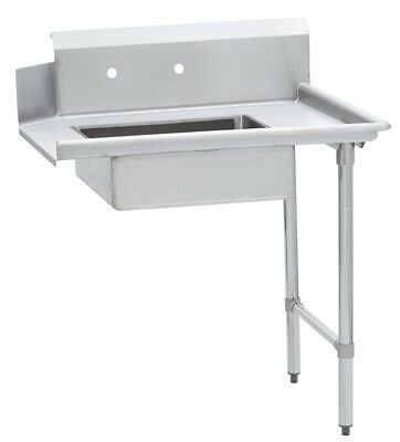 Commercial Kitchen Stainless Steel Soiled Dish Table Right Side 30 X 72 Ss