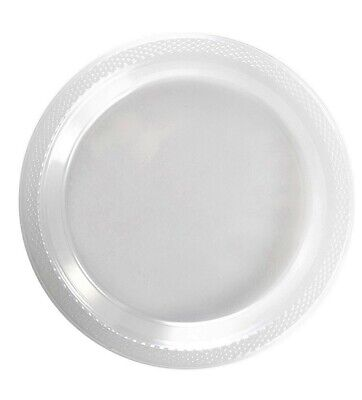 Wedding Plates Bulk (Bulk Pack Plastic Clear 7