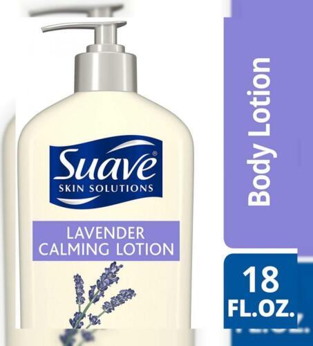 Suave Essentials Body Lotion, Lavender Vanilla 18 oz