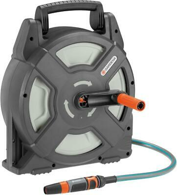 Gardena Terrace Hose Box / Hose Reel With Garden Hose 10m, 18400