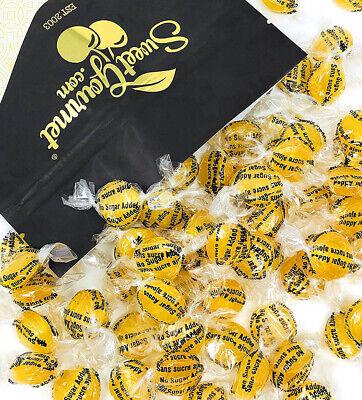 SweetGourmet Sugar Free Butterscotch Buttons   Mini Bulk Hard Candy Kosher  