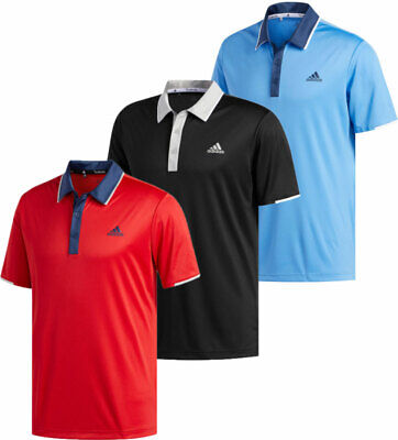 Adidas Climacool Polo Golf Shirt Men's New - Choose Color & Size Climacool Golf Shirts
