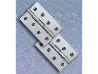 "Heavy duty steel hinges (4"" long)"