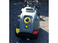 Karcher HDS 6/12 C Hot Water High Pressure Washer + 2x 10m extension hoses