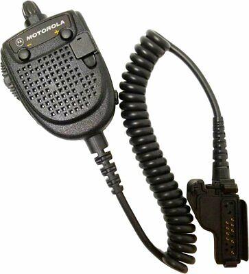 Motorola Commander Vhf Uhf Remote Speaker Microphone Rmn5021 Xts3000 Xts5000