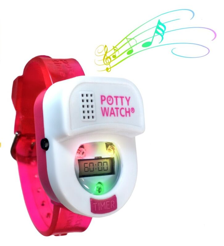 Potty Time Watch Toddler Toilet Training Aid Reminder Timer~ Pink