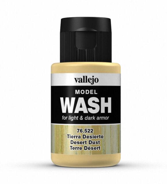 VALLEJO MODEL WASH - MODEL WEATHERING - DESERT DUST 35ML - 76522