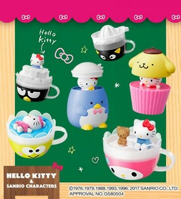 New McDonald's Japan Sanrio Happy Meal 2017 Hello Kitty Full Complete Set  F/S