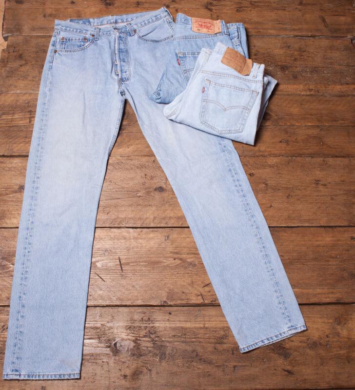 7ca9033b576fe Vintage Levi Levis Jeans 501 GRADE A Mens Denim Size 29 30 31 32 33 ...