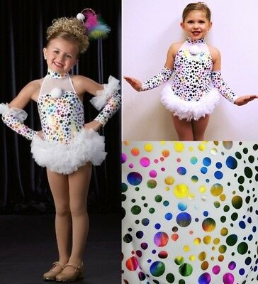 Cindy Lou Who Dance Tap Costume Circus Clown w/Mitts Skirted Leotard Child Sizes - Cindy Lou Who Outfit
