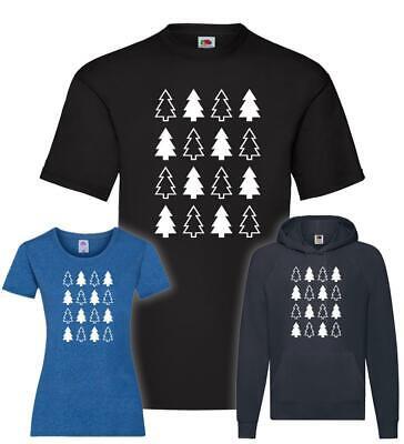 Weihnachtsbäume T-Shirt / Pullover / Hoodie (Weihnachten Pullover T-shirt)