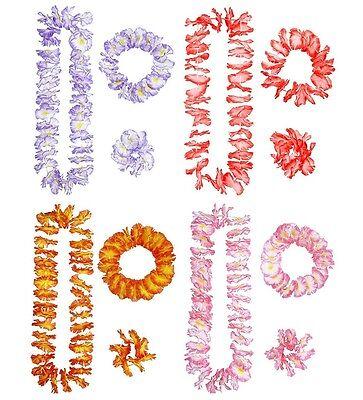 Set Hawaiano Collana, Corona, Braccialetto PS 07485 Accessori Costume - Corona Kostüm