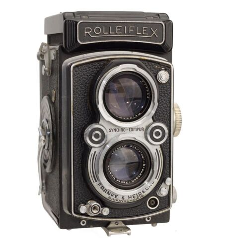 Rolleiflex 3.5A Model 4 K4A Replacement Cover - Laser Cut - Genuine Leather
