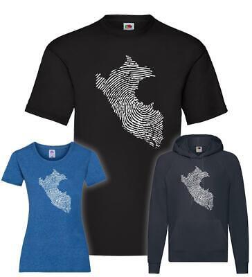 Peru Fingerabdruck T-Shirt / Pullover / Hoodie