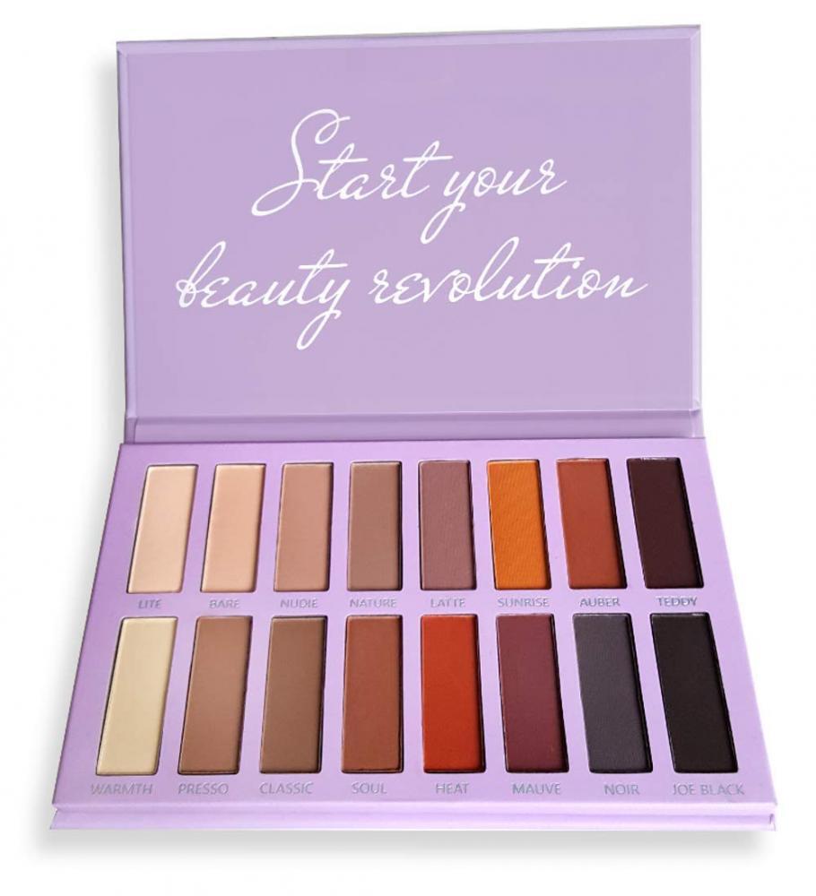 Best Pro Eyeshadow Palette Matte - 16 Highly Pigmented Makeu