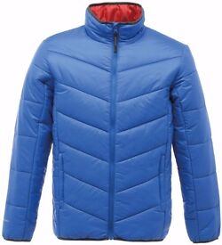 Regatta Professional Mens Xpro Icefall Warm Puffa Bubble Style Insulated Jacket Blue/Red