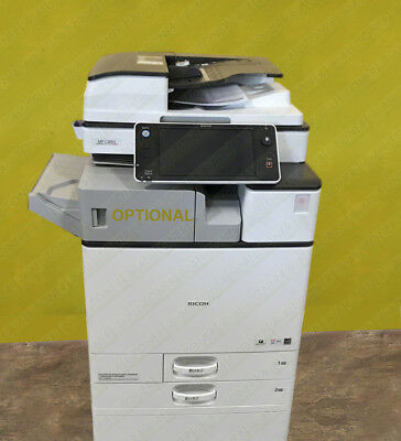 Ricoh Aficio Mp C2003 Color Tabloid Printer Copier Scanner All-in-one 20ppm