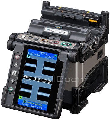 New Fujikura 80s Fusion Splicer With Ct-30a Cleaver Kit-a Plus