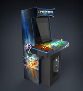 Quality Personalized Arcade Machines by Retro Active Arcade