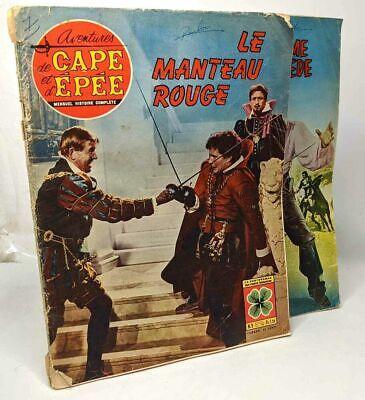 """2 numéros de """"Aventures de cape et d'épée"""" mensuel histoire complète -"""