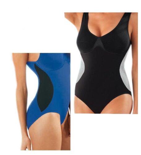 Slim Body Damen Badeanzug Body Bademode Figur Unterwäsche