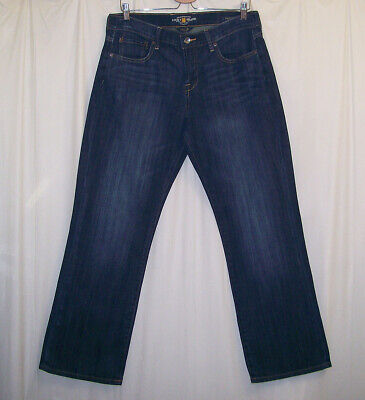 Lucky Brand Easy Rider Women's 12 / 31 Ankle Jeans Blue (Lucky Brand Easy Rider)