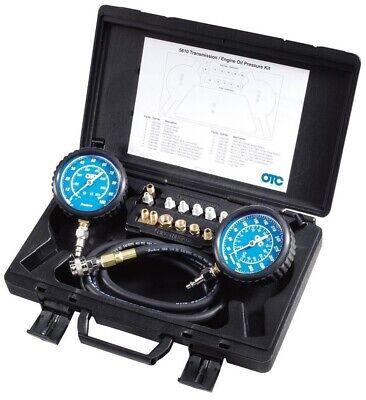Oil Pressure Tester Transmission Test Kit Tools Hose Gauges Quick Couplers (Hose Pressure Test)