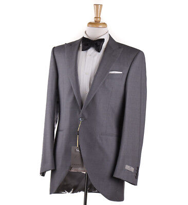 Used, NWT $2295 CANALI 1934 Modern-Fit Gray Striped Wool Tuxedo 40 R (Eu 50) Suit for sale  Milwaukee