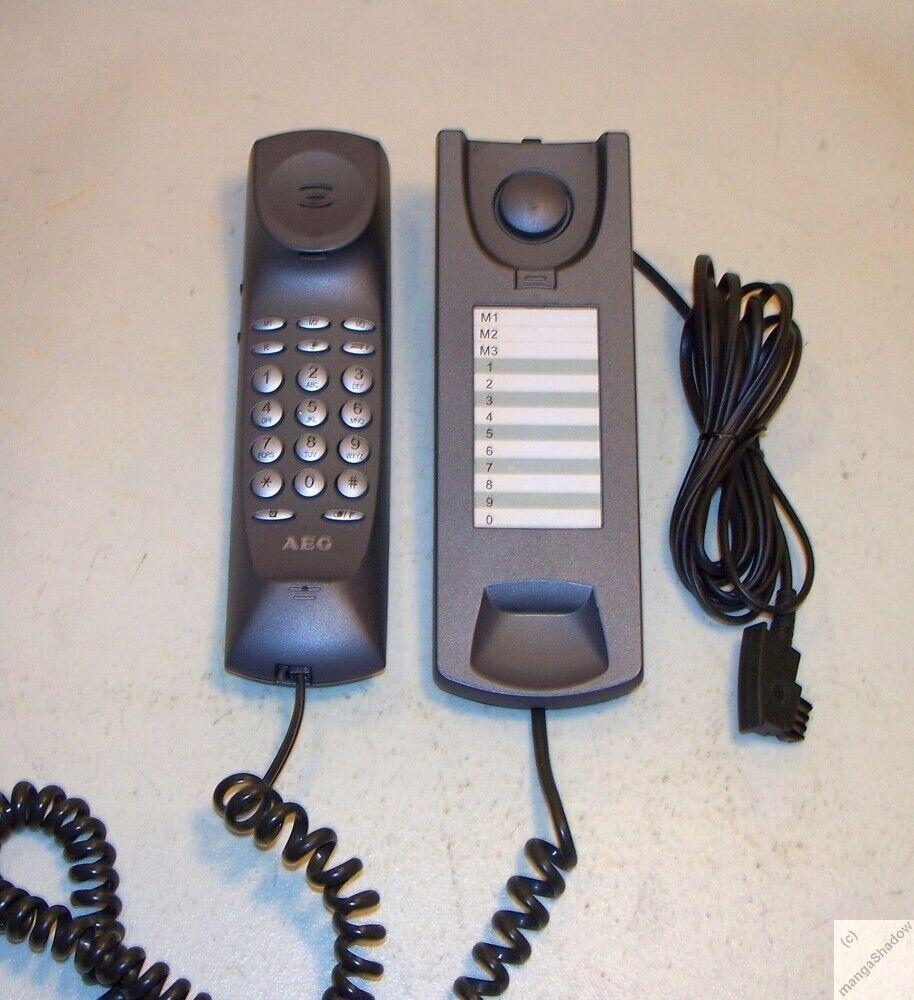 AEG Milano 10 Telefon analog Festnetz Ton- und Pulswahl Wandmontage möglich _zj