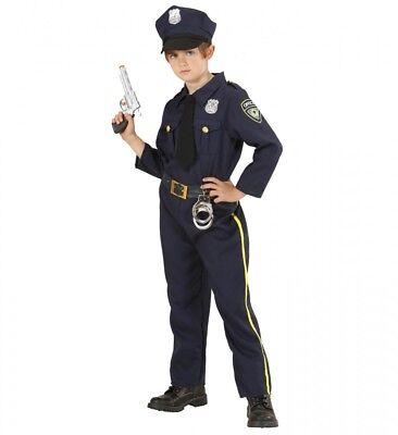 Kinder-Kostüm Polizei Uniform für Jungen Mädchen Kleinkind Polizist Cop Officer