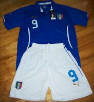 Jersey soccer avec Short ITALIE 2014 - BALOTELLI - HOME