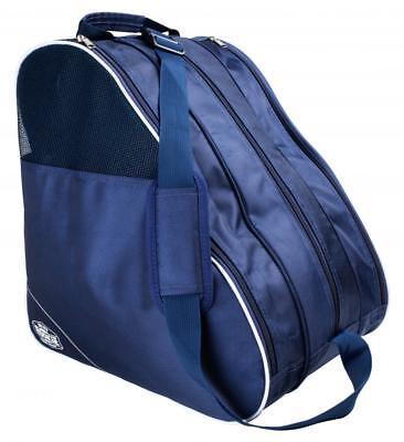 5b4113d1010 Rookie Compartmental Roller Inline Vierbett Skate Tasche - Marineblau Weiß