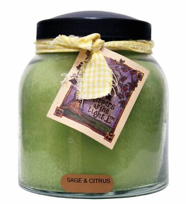 A Cheerful Giver Keeper of the Light Sage & Citrus Jar Candle 32oz