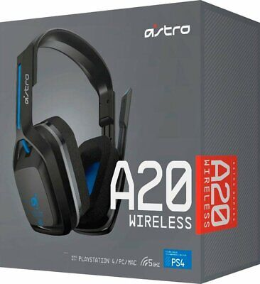 Astro Gaming A20 Wireless Gaming Headset for PlayStation 4 / PC / Mac