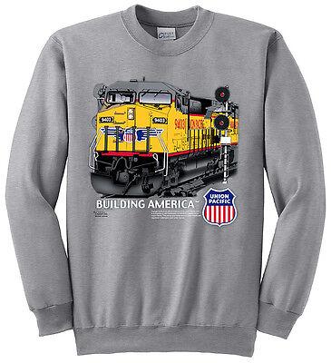- Union Pacific Building America C44-9W Authentic Railroad Sweatshirt [20005]