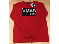 *BRAND NEW* NEXT Christmas Xmas 2016 Women's Jumpers - Black OR Red - Size 8